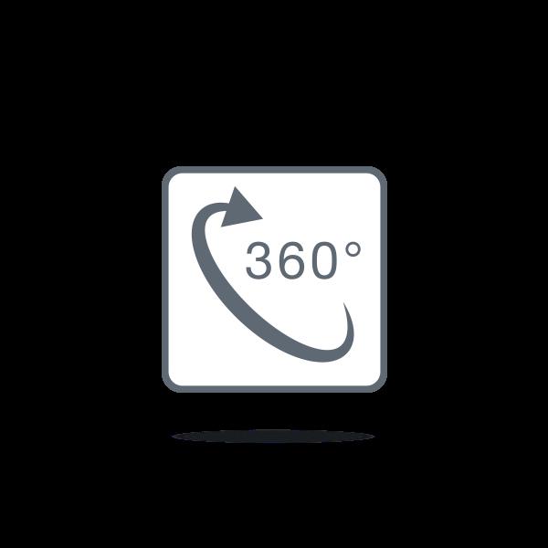 Projection à 360°