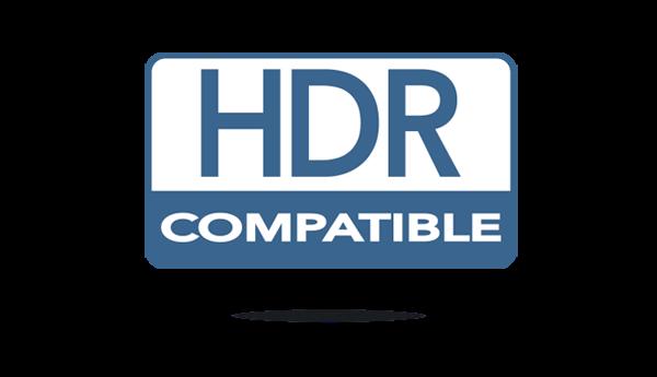 Compatible HDR et HLG