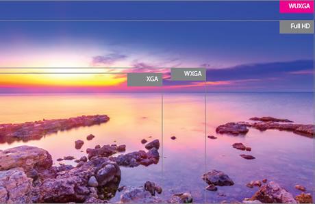 Optoma wu1500 dlp wuxga professional projecteur optoma for Miroir element dlp projector
